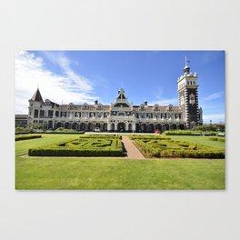Dunedin Train Station Canvas Print