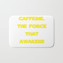 Caffeine Awakens Bath Mat