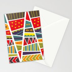pyramids up and down Stationery Cards