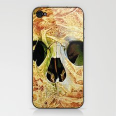 nuance skull iPhone & iPod Skin