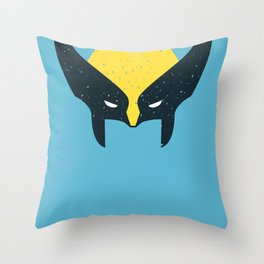 Wolverine - Let's Go Bub Throw Pillow