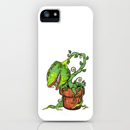 Killer Plant Venus Fly Trap iPhone Case