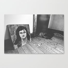 Found Art Canvas Print