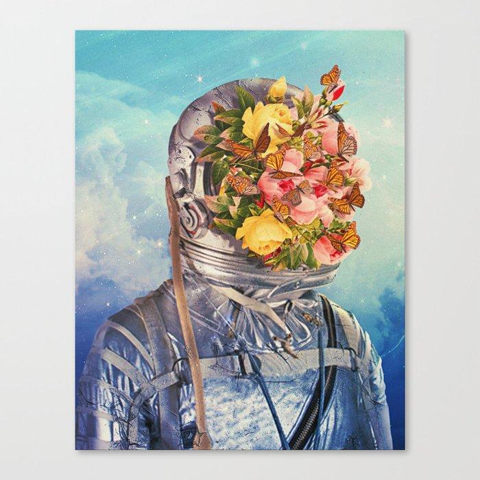 Retoñar: Reproducirse lo que había dejado de ser o estaba amortiguado. Canvas Print