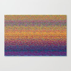 CMYK Glitch Canvas Print