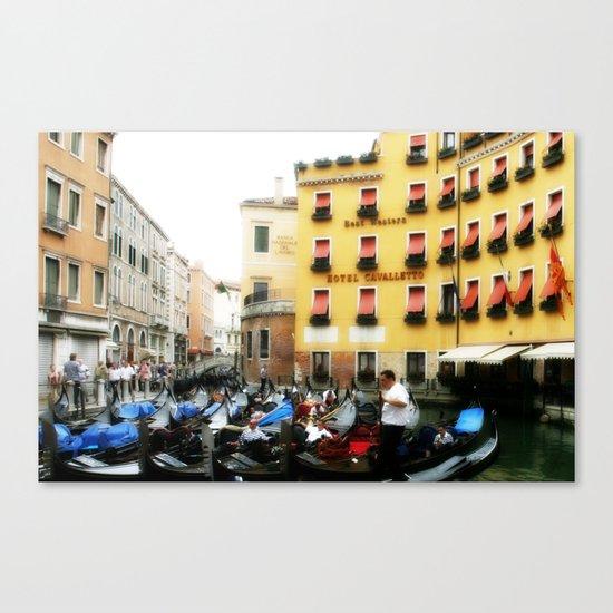 Venice Gondola 1 Canvas Print