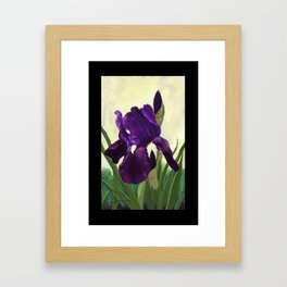 Purple Iris DP150530 Framed Art Print