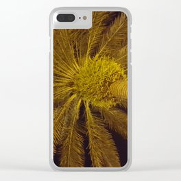 Night Palm New Syrna Beach Clear iPhone Case