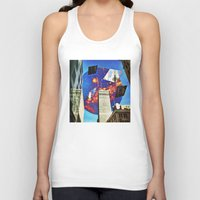 montreal Tank Tops featuring Gateway To Montreal by Mathieu LaBerge