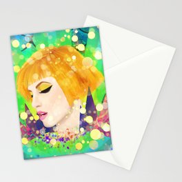 Digital Painting - Hayley Williams - Variation Stationery Cards