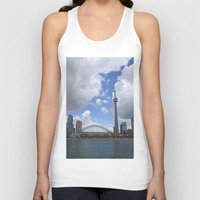 toronto Tank Tops featuring Toronto by Rose&BumbleBee