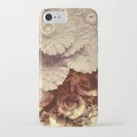 vintage floral iPhone & iPod Cases featuring Vintage Floral by Joke Vermeer