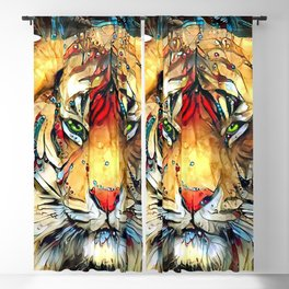 Fantazi (Tiger is Not Amused II) Blackout Curtain