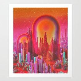 CAPSULES (everyday 06.21.16) Art Print