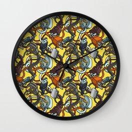 Plugs Wall Clock