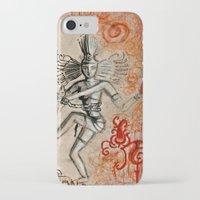 shiva iPhone & iPod Cases featuring Shiva by Maithili Jha