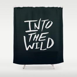 Into the Wild x BW Shower Curtain