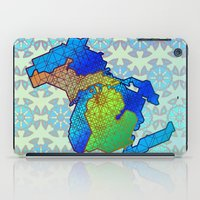 michigan iPad Cases featuring Michigan by Dusty Goods