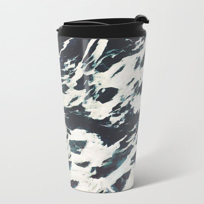 The Tossed Sea Metal Travel Mug
