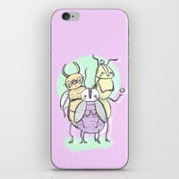 bugs iPhone & iPod Skins featuring Bugs by Sonia Lazo