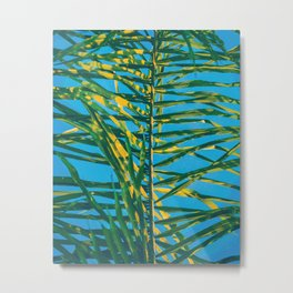 Palm tree V5 #society6 Metal Print