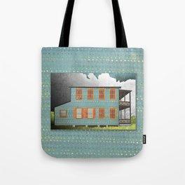 West Indies House Tote Bag