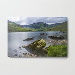 Llyn Ogwen Glyder Fawr Metal Print