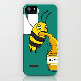 Save the honey bees! iPhone Case
