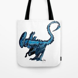 Cosplay Xenomorph - Blue Tote Bag