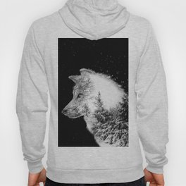 Winter Wolf Hoody