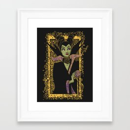 The Dark Faerie Framed Art Print