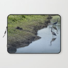 Sharing the River Laptop Sleeve