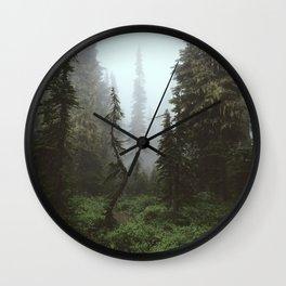 Rainier Forest Wall Clock