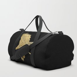 """Golden Boy"" Eagle Design Duffle Bag"