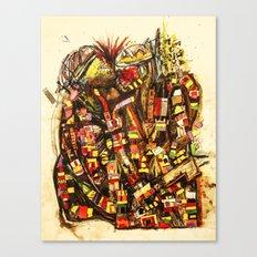 Kiss the King Canvas Print