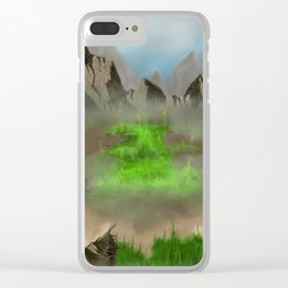 New Love of Nature Clear iPhone Case