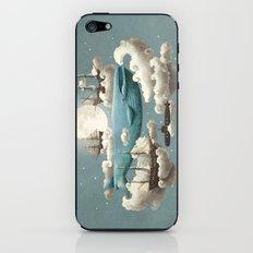 Ocean Meets Sky - colour option iPhone & iPod Skin