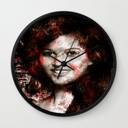 CLAUDIA CARDINALE Wall Clock