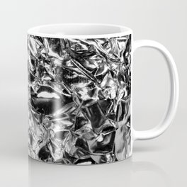 Striking Silver Coffee Mug