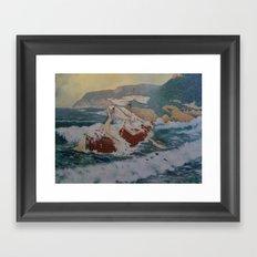 East Sea Framed Art Print
