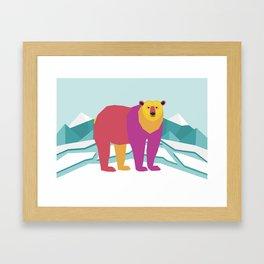The Polar Bear Framed Art Print