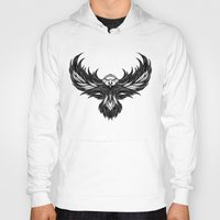 eagle Hoodies featuring Eagle by Andreas Preis