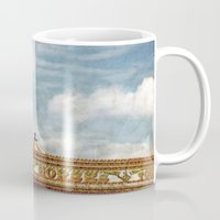 carousel Mugs featuring Carousel by ALLY COXON