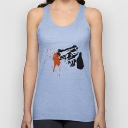 Art Is A Weapon Unisex Tank Top