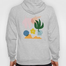 Abstraction_Floral_002 Hoody