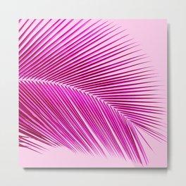 Palm leaf - tropical punch Metal Print