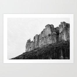 El Caracol, Big Bend National Park Art Print