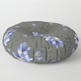 Moon Light Bouquet Floor Pillow