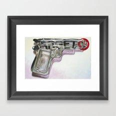 Tequila Shooter Framed Art Print