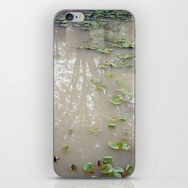 secret garden 9 - Reflection iPhone Skin